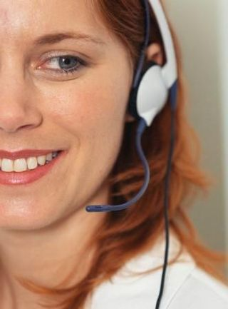 WomanWithTelephoneHeadset