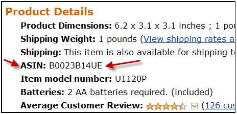 AmazonProductDetails